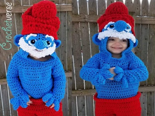A mom makes incredible 3D Halloween costumes for her kids almost entirely out of yarn - Business Insider