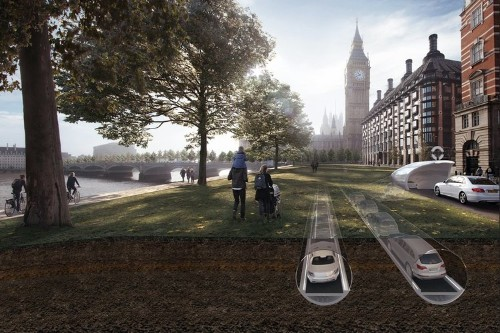 This underground tunnel for cars could cut an hour-long commute down to 15 minutes