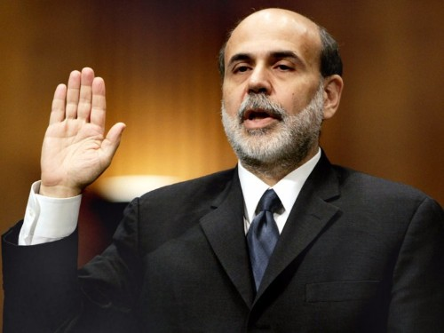 BERNANKE: Let me tell you something about 'currency wars' ...