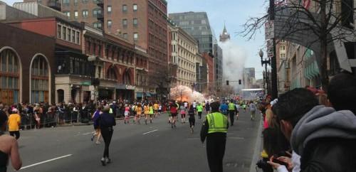 MORE THAN 100 INJURED IN BOSTON MARATHON BOMBING