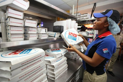 Domino's Pizza sinks on the latest sign the food-delivery wars are hurting sales (DPZ)