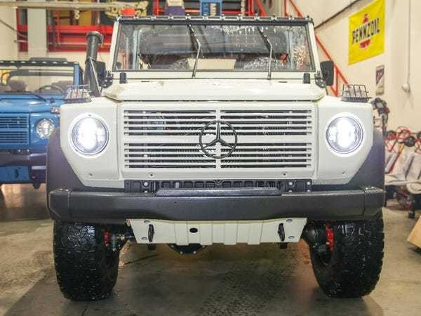 Expedition Motor Company restored vintage military Mercedes-Benz G-Wagen - Business Insider