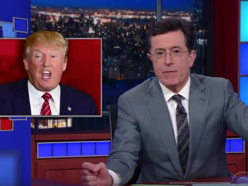Stephen Colbert zeroes in on why he thinks Donald Trump lost Wisconsin