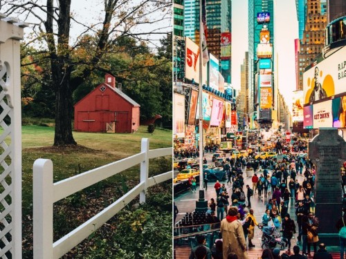 9 things I do and don't miss about small-town life after moving to New York City