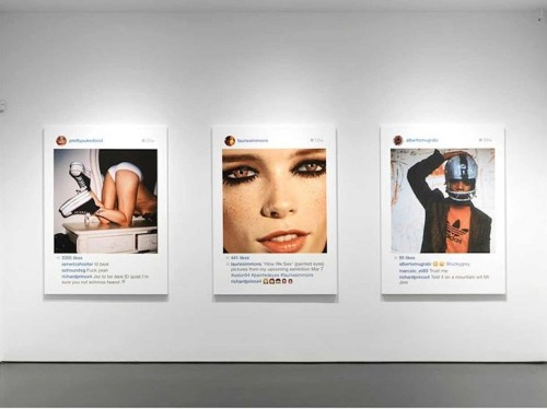 An artist is making $100,000 a pop off other people's Instagram photos — and it could be totally legal
