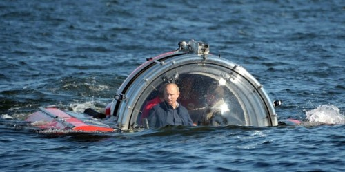 Russia drops first video of Putin's 'Poseidon' doomsday torpedo undergoing testing