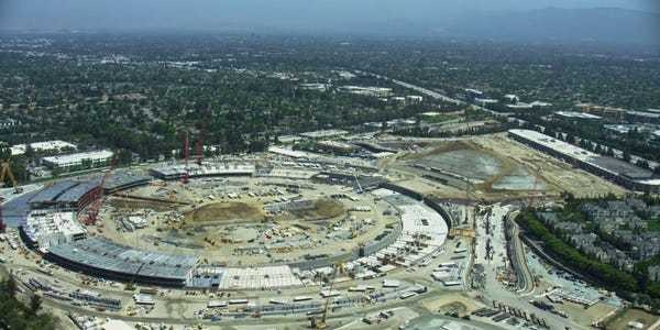 Apple Campus 2 'has raised the bar for construction standards' - Business Insider