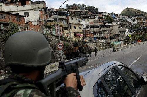 Violence in Rio de Janeiro has gotten so bad a newspaper is covering it in the 'war' section