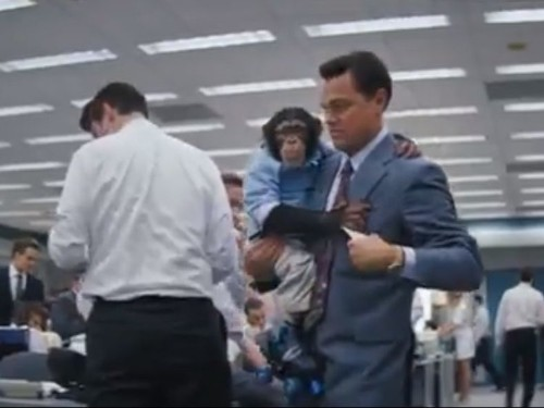 Leonardo DiCaprio Co-Starred With A Chimpanzee In 'Wolf Of Wall Street' And Now 40,000 People Are Furious