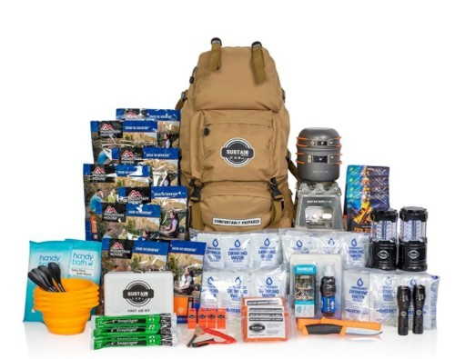 Amazon and Costco sell emergency kits that can feed a family for a year
