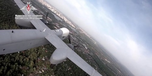 Russia's new high-altitude drone just flew for the first time, and they want to arm it with one ton of bombs