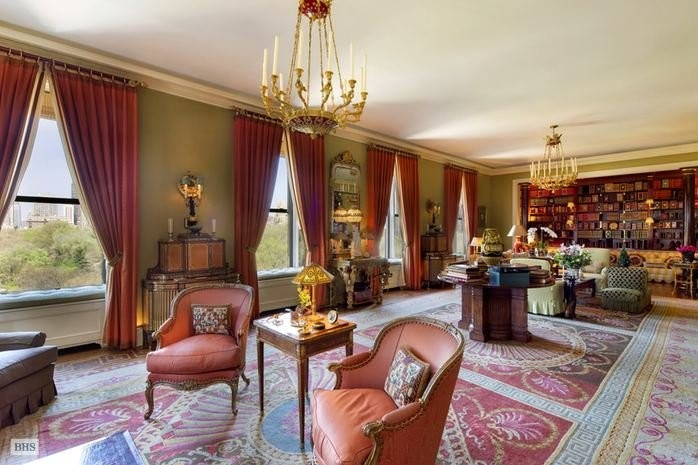 The $120 million penthouse once owned by the 'King of Wall Street' just became New York City's most expensive home