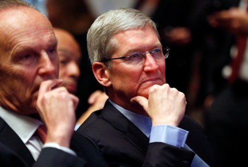 Tim Cook, Elon Musk, and Larry Page were at a private event where the 'main topic' was stopping Trump