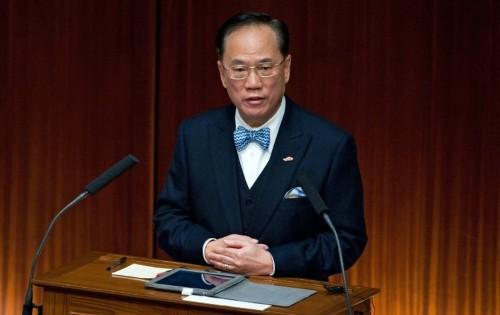 Hong Kong former leader charged over corruption