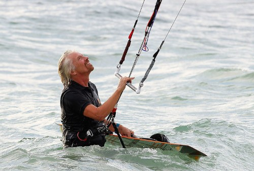 Meet the ex-Facebook advisor who pitched Richard Branson while kiteboarding