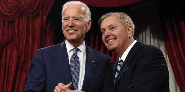 Lindsay Graham called Joe Biden 'as good a man as God ever created' - Business Insider