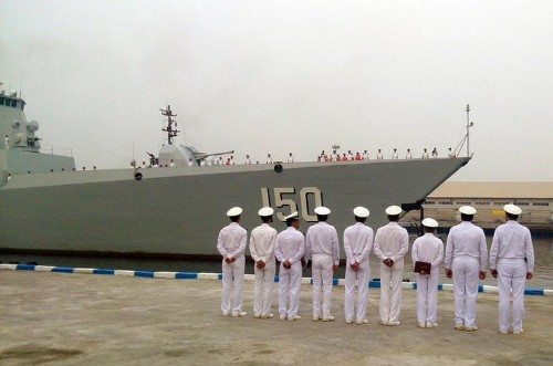 Two Chinese Warships Arrive In Iran For Unprecedented Visit