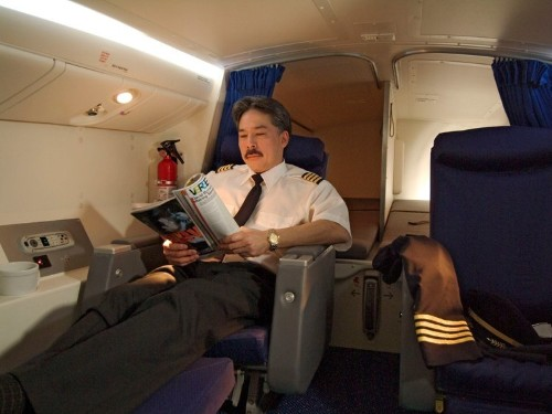See the secret airplane bedrooms where flight attendants sleep on long-haul flights