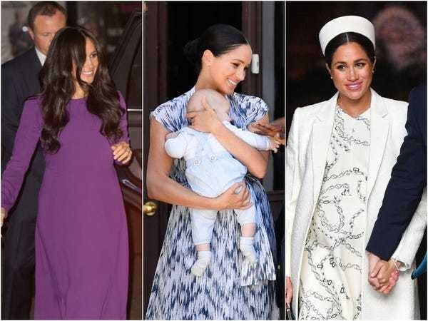 20 show-stopping outfits show why Meghan Markle was named 2019's most powerful dresser - Business Insider