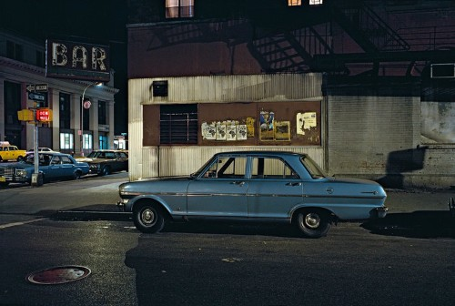 These eerily empty street photos show how different New York City was in the crime-ridden 1970s