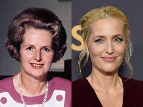Gillian Anderson is playing Margaret Thatcher on 'The Crown'