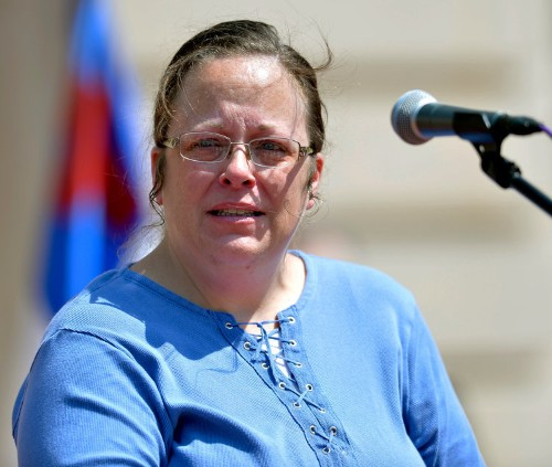 A Kentucky county clerk who refuses to issue marriage licenses to gay couples just appealed to the Supreme Court