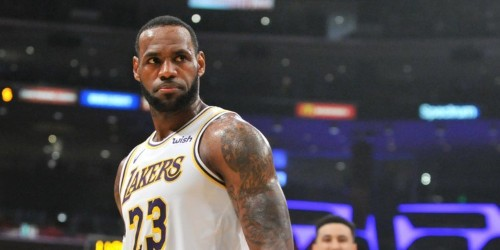 LeBron James is already working to bring another star to the Lakers