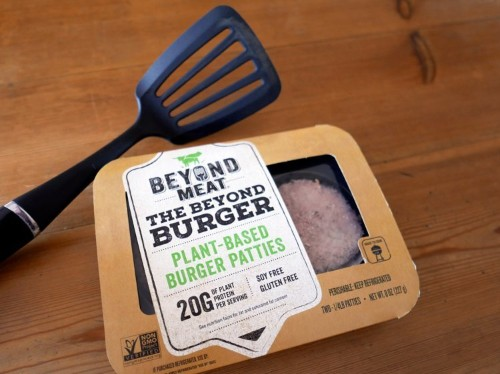 Beyond Meat's chairman jokes about the veggie burger