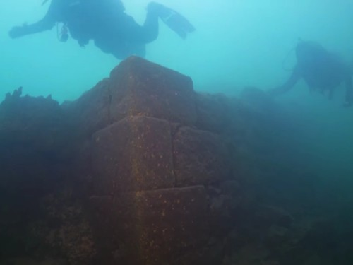 Divers discovered a 3,000-year-old castle underwater in a Turkish lake