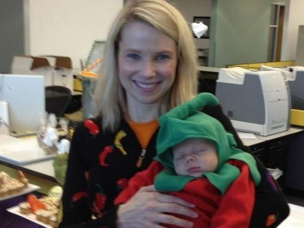 Marissa Mayer Is Giving New Parents At Yahoo $500 To Buy Baby Stuff