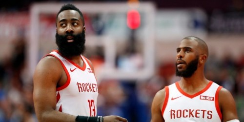 Chris Paul demands trade from Rockets over James Harden beef: report