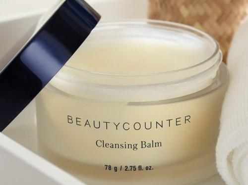 Beautycounter Cleansing Balm review — it melts makeup off my skin