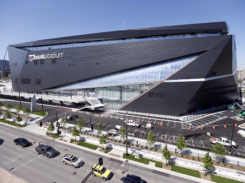 The Minnesota Vikings' new stadium is nearly complete, and it looks amazing - Business Insider