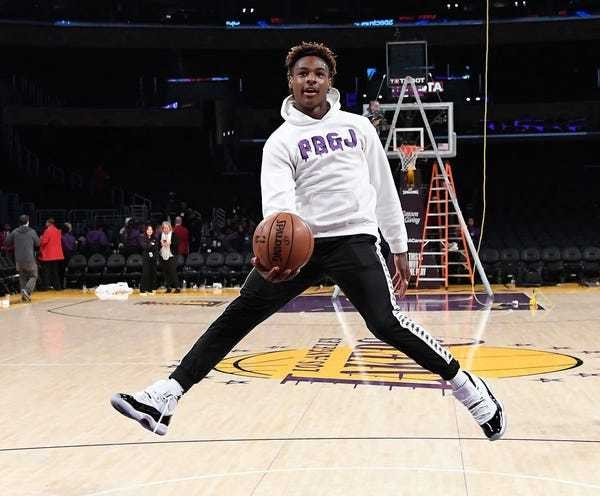Bronny James and Zaire Wade will be on ESPN 15 times this season - Business Insider