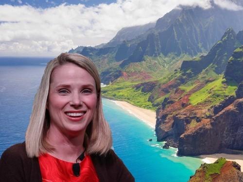 Marissa Mayer sent 18 Yahoo employees on a free trip to Hawaii