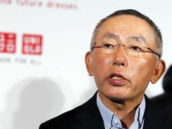 Japan's richest man Tadashi Yanai is leaving SoftBank's board - Business Insider