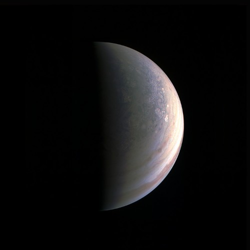 The first photos of Jupiter's poles are 'like nothing we have seen or imagined before'