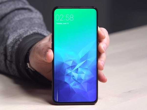 Here's one Chinese company's crazy answer to the ugly iPhone notch - Business Insider