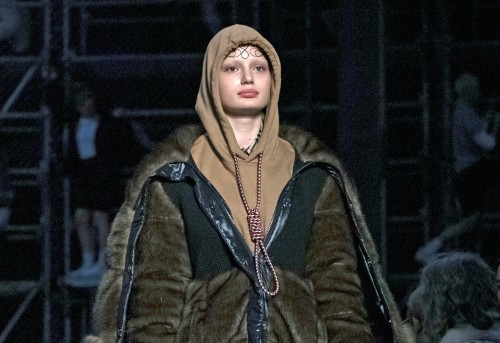 Burberry is apologizing for including a hoodie that has a noose knot attached to it in its fall/winter 2019 collection