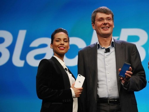 Alicia Keys Makes PowerPoints For BlackBerry Marketers