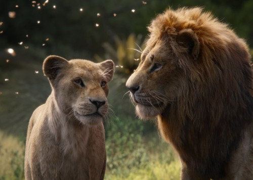 'The Lion King' is on track to beat Disney's 'Beauty and the Beast' remake at the box office and snag a record