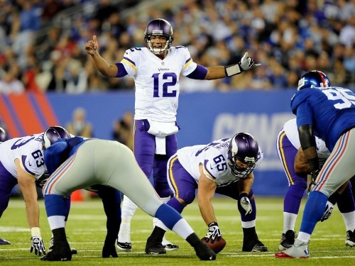 Josh Freeman's Historically Awful Debut Was Made Worse By The Vikings' Disastrous Game Plan