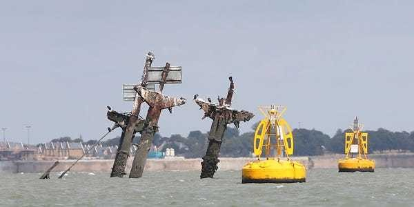 Tale of SS Richard Montgomery sunk off London with 1,400 tonnes of TNT - Business Insider