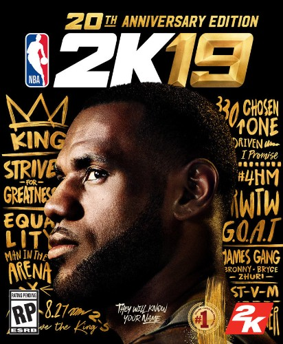 LeBron James is on the cover of NBA 2K19, but there's an important omission