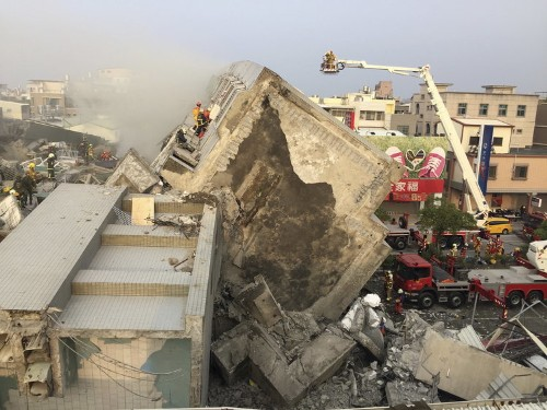 Over 100 people are still missing after a strong earthquake rattled Taiwan in the middle of the night
