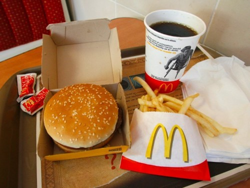 A report found that fine-dining restaurants have 132 times as much bacteria as fast-food chains
