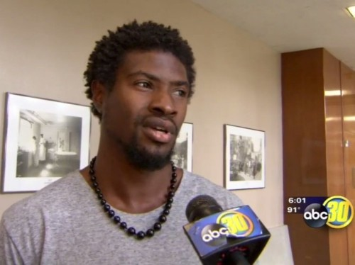An ex-NFL player caught his college teammate burglarizing his house on camera