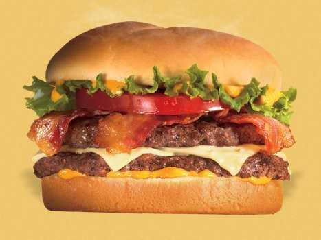 The Least Healthy Burger At Every Big Fast Food Chain