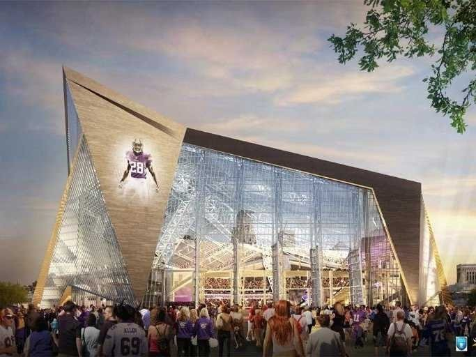 Here Are The Wild Designs For The New $975 Million Minnesota Vikings Stadium