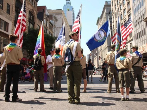 Boy Scouts committee approves allowing gay adults to serve as leaders
